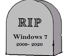 Windows 7 - Rest In Peace