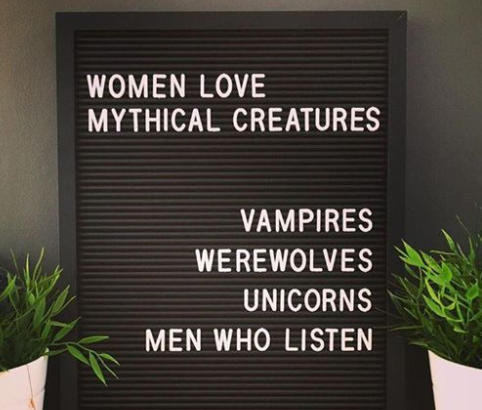 Women Love Mythical Creatures